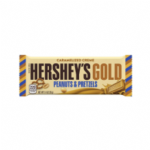 Hershey's Peanuts And Pretzels Chocolate 39g